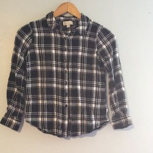 Olive & Oak Plaid Soft Flannel Button up Shirt